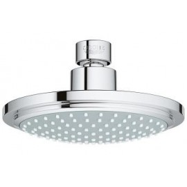 Wall-mounted overhead shower