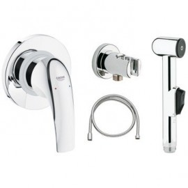 Hygienic hand shower set