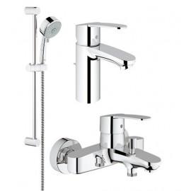 Basin mixer tap set