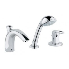 Bathtub mixer tap set